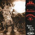 CUT THROAT Satan's revenge Live!!! album cover