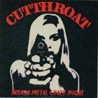 CUT THROAT Thrash Metal Crazy Night album cover