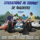 DE MASKERS Sensations in Sound album cover