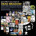 DEAD MEADOW Got Live If You Want It album cover