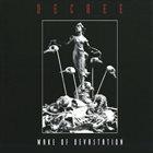 DECREE Wake of Devastation album cover