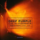 DEEP PURPLE Live In Stockholm album cover