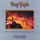 DEEP PURPLE Made In Europe album cover