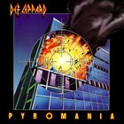 DEF LEPPARD Pyromania Album Cover