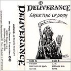 DELIVERANCE Greeting of Death album cover