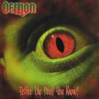 DEMON Better the Devil You Know album cover