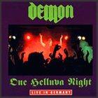 DEMON One Helluva Night album cover