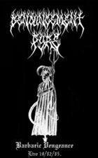 DENOUNCEMENT PYRE Barbaric Vengeance album cover