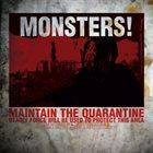 DEPARTMENT OF CORRECTION Monsters! (Six Of A Kind) / Monsters! (Five Of A Kind) album cover