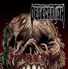 DESECRATION Process of Decay album cover