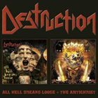 DESTRUCTION All Hell Breaks Loose + The Antichrist album cover