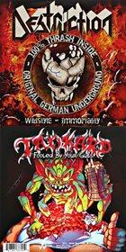 DESTRUCTION Destruction / Tankard album cover