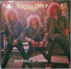 DESTRUCTION Sentence of Death / Infernal Overkill album cover