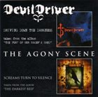 DEVILDRIVER Driving Down The Darkness / Screams Turn To Silence album cover