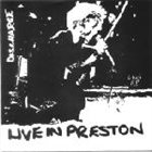 DISCHARGE Live In Preston album cover