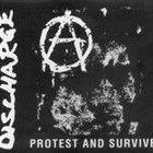DISCHARGE Protest and Survive album cover