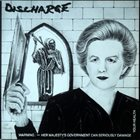 DISCHARGE Warning - Her Majesty's Government Can Seriously Damage Your Health album cover