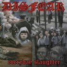 DISFEAR Everyday Slaughter album cover