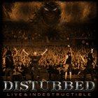 DISTURBED Live & Indestructible album cover