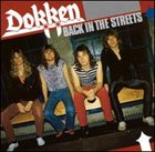 DOKKEN Back In The Streets album cover