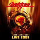 DOKKEN From Conception: Live 1981 album cover
