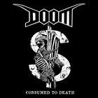 DOOM Consumed To Death EP / US 2012 Tour EP album cover