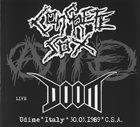 DOOM Live Udine * Italy * 30.03.1989 * C.S.A. album cover