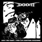 DOOM Hiatus / Lost The Fight album cover