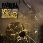 DOWN TO CONCRETE Global Beatdown: 4 Way International Beatdown Split album cover