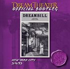 DREAM THEATER New York City 3/4/93 album cover