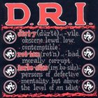 D.R.I. Definition album cover