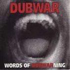 DUB WAR Words Of Dubwarning album cover