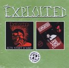 THE EXPLOITED Let's Start a War / Live and Loud!! album cover