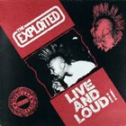THE EXPLOITED Live and Loud album cover