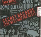 THE EXPLOITED Secret Records (The Best and the Rest) album cover