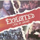 THE EXPLOITED Live in Japan album cover
