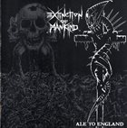EXTINCTION OF MANKIND Ale to England album cover