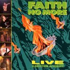 FAITH NO MORE Live At The Brixton Academy album cover