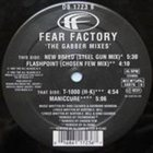FEAR FACTORY The Gabber Mixes album cover