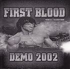 FIRST BLOOD Demo 2002 album cover