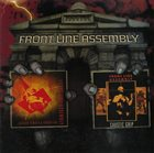 FRONT LINE ASSEMBLY Gashed Senses & Crossfire / Caustic Grip album cover