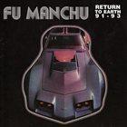 FU MANCHU Return To Earth '91-'93 album cover