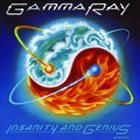 GAMMA RAY Insanity and Genius album cover