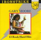 GARY MOORE 13 Rock Hard Hits album cover