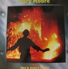 GARY MOORE Hot & Heavy Metal album cover