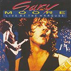 GARY MOORE Live At The Marquee album cover