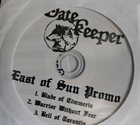 GATEKEEPER East of Sun Promo album cover