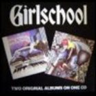 GIRLSCHOOL Demolition / Hit and Run album cover