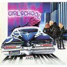 GIRLSCHOOL Hit and Run album cover