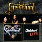 GIRLSCHOOL Live and More album cover